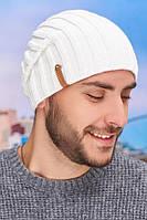 Мужская шапка-колпак «Флориан» Braxton белый 56-59