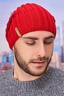 Мужская шапка-колпак «Флориан» Braxton красный 56-59