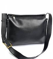 Женская кожаная сумочка клатч 66 Black Женские кожаные сумки и кожаные клатчи купить недорого в Украине