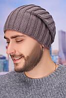 Мужская шапка-колпак «Флориан» Braxton темный кофе 56-59