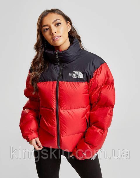 Жіночий пуховик The North Face women's 1996 Nuptse Red Jacket M