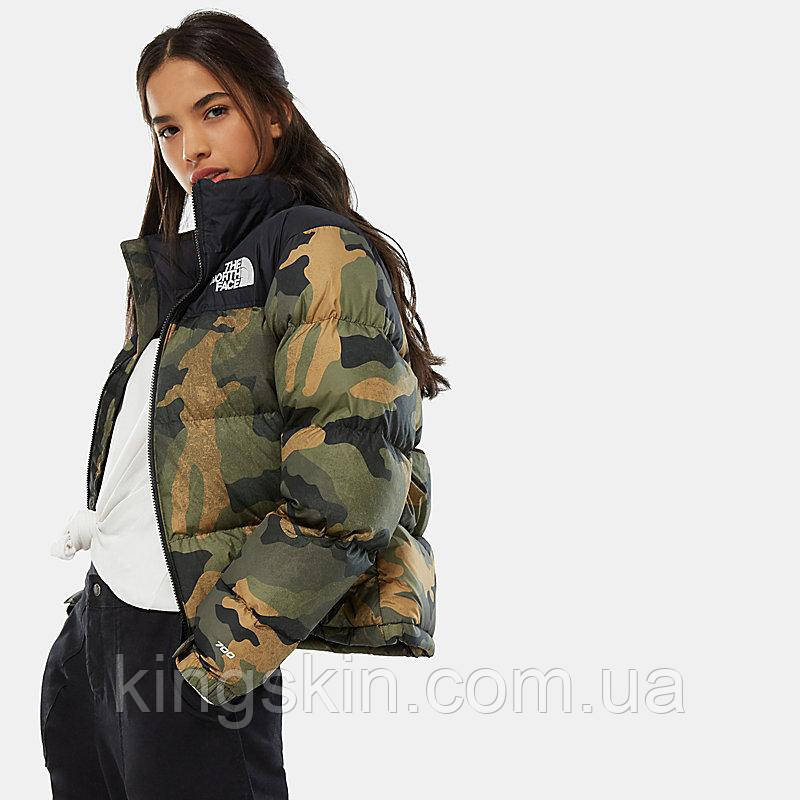 Жіночий пуховик The North Face women's 1996 Nuptse Jacket Camo M