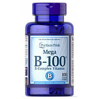 Витамин B-100 комплекс Puritan's Pride (Vitamin B-100 Complex Timed Release) 100 капсул