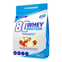 Протеин 80 Whey Protein 908 g (White chocolate strawberry)