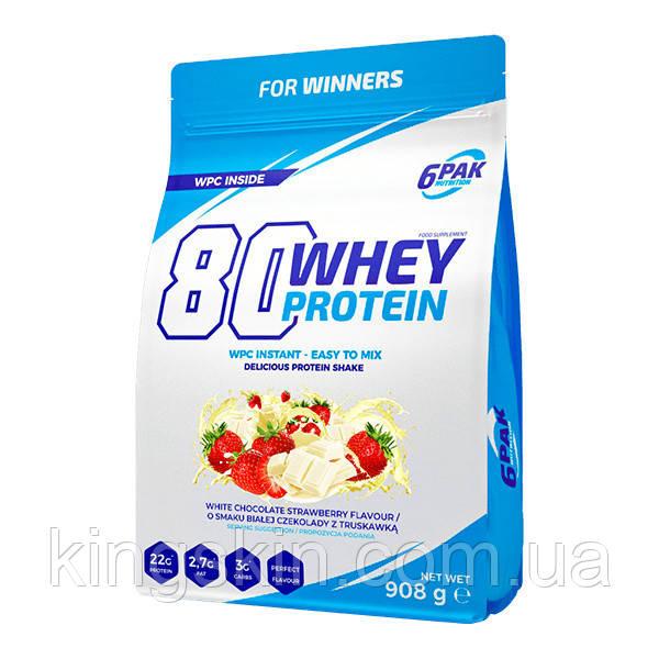 Протеин 80 Whey Protein 908 g (Chocolate)