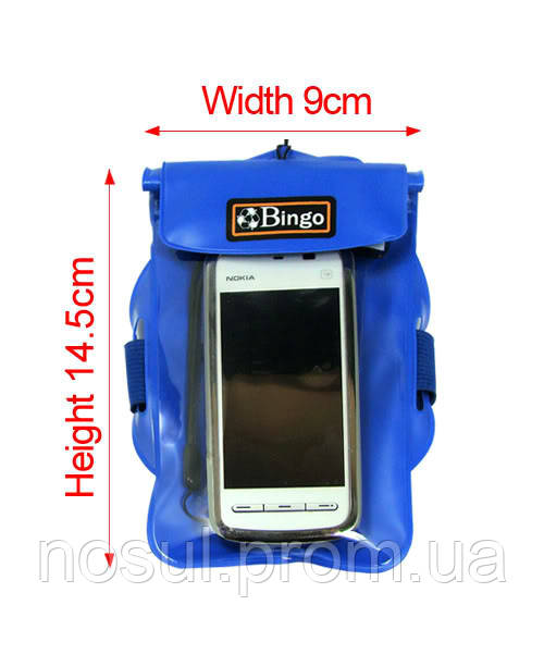 Bingo BG-15 водонепроницаемый чехол для моб. телефона/документов