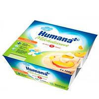 Humana «С персиком и натуральными пребиотиками» Кисломолочный продукт 4х100 г
