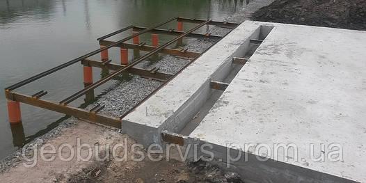 Устройство фундамента, бетонные работы, заливка фундамента