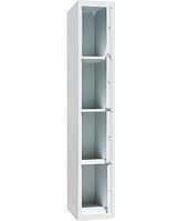 Шкаф ячеечный ШО-300/1-4 - (ВхШхГ - 1800х300х500)
