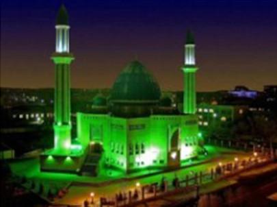 Алмазна мозаїка Мечеть 30*40 см з рамкою 41 *31*25 см (H8415)