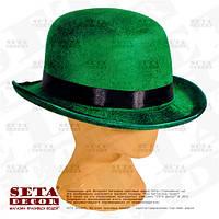 Шляпа на прокат Зелёный Котелок  на день Святого Патрика.
