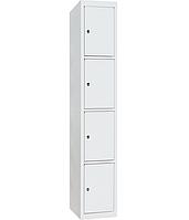 Шкаф ячеечный ШО-400/1-4 - (ВхШхГ - 1800х400х500)