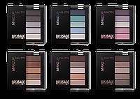 "Тени LUXVISAGE Make up palette ""Люкс Визаж"""