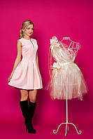 Трикотажное молодежное платье.48 размер