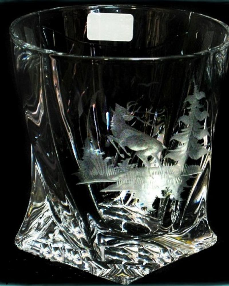Набор стаканов для виски (6 шт/300 мл.) BOHEMIA Quadro Охота  5580