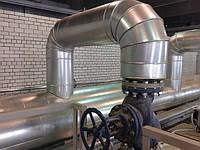 Окожушивание и теплоизоляция трубопроводов