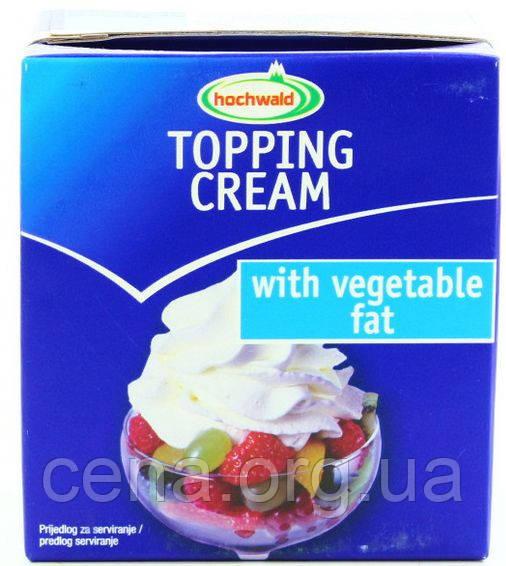 """Сливки для взбивания """"Hochwald"""" Topping Cream на растительной основе 27% 0,5 л - Цена в Одессе"""