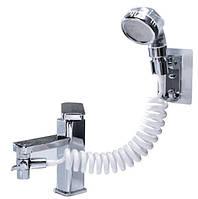 Душевая система на умывальник с турмалином UKC (7502) ON