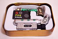 Набор для курения подарочный. Раста. Зеленый