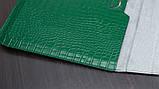 "Чохол-конверт для MacBook 15.4"" /16"" Fashion Case Крокодил Leather Dark green, фото 7"