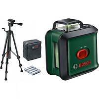 Лазерный нивелир Bosch UniversalLevel 360 Set + штатив I уровень | Лазер