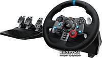 Проводной игровой руль Logitech G29 Driving Force PCPS3PS4PS5 Black (941-000112) I автосимулятор