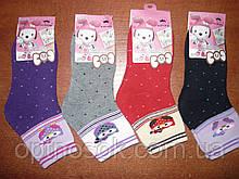 """Дитячі махрові шкарпетки """"Корона"""". н. M (26-31). Дівчинка"""