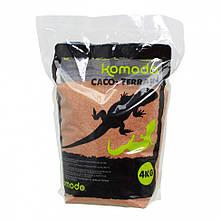 Харчовий пісок для рептилій Komodo CaCo3 Sand Terracota 4кг (U46074)
