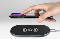 Беспроводное зарядное устройство AWEI W2+ WIRELESS CHARGE, Супер тонкое портативное зарядное устройство ON