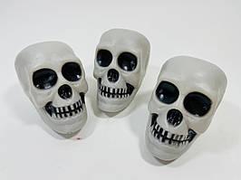 Декор Череп на Хэллоуин 3 штуки в упаковке