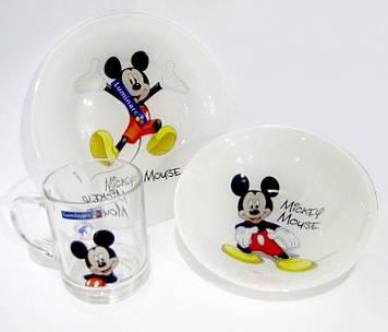 Набір дитячий Luminarc Disney Colors Mickey 3 предмета
