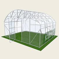 Теплица Фермерская 5х12м Solidprof, толщина поликарбоната 4мм Теплица Фермерская 5х12м Solidprof, толщина поликарбоната 6мм