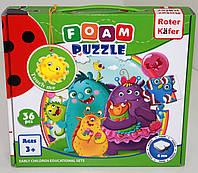 Мягкие пазлы Foam puzzles Монстры RK1202-05 Фабрика Игрушек