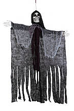 Призрак подвесной  музыкальный 170 см декор украшение на Хэллоуин