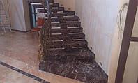 Внутренние лестницы из мрамора