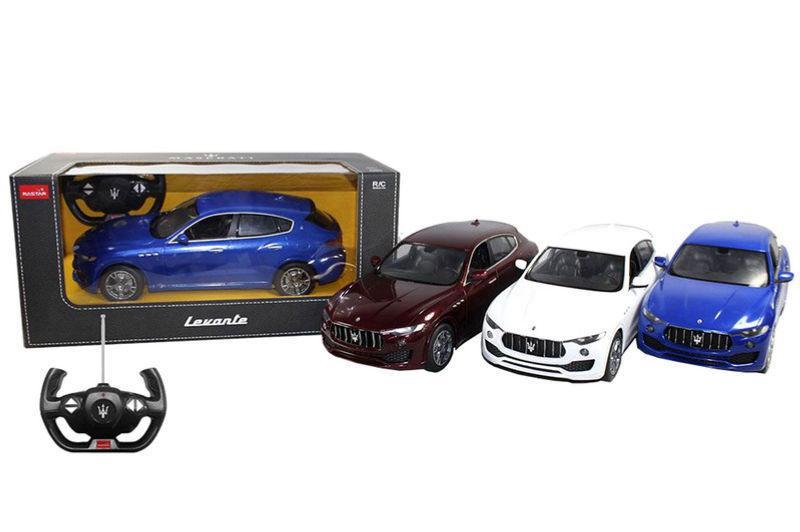 Машина Мазерати Леванте Растар на радиоуправлении, масштаб 1:14, Maserati Levante Rastar 75500