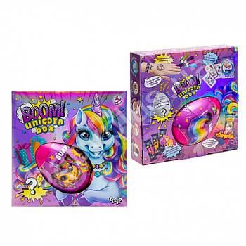 Креативный игровой детский набор пони Boom! Unicorn Box Danko toys (укр)