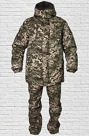 """Зимовий костюм до -20° """"Mavens Піксель"""" для риболовлі, полювання, роботи в холоді, розмір 60 (014-0032)"""