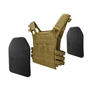 Жилет тактический AOKALI Outdoor A54 Sand армейский разгрузочный