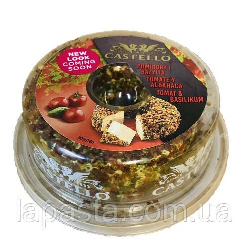 Сир-крем Castello pomidory i bazylia 65% 125г