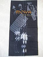 Летний бафф, buff, бесшовный шарф, повязка (#317)