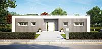 MS94. Проект дома в стиле хай-тек 140 кв.м., фото 1
