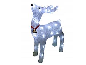 Новорічна акрилова статуя олень RENIFER, що Світяться новорічні олені 24 led