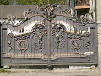 Кованые ворота не дорого