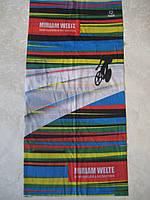 Летний бафф, buff, бесшовный шарф, повязка (#432)