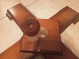 Дерев'яна підставка під ялинку 220-300 см