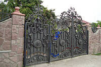 Ворота дворовые