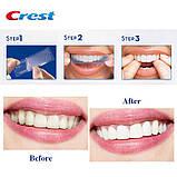 Отбеливающие полоски для зубов Crest 3D Whitestrips Professional White + LED Light упаковка 19 пар (7 тонов), фото 3
