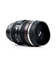 Термокружка в виде объектива Canon EF24, Автомобильная чашка, кружка термо чашка объектив, кружка термо чашка