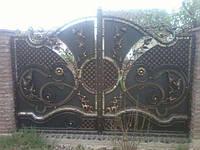 Ворота ручная робота